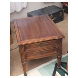Hammary End Table w/ 2 Drawers