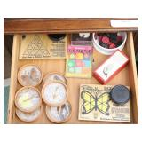 6 Preserved Butterfly Coasters Plus Games