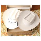 2 Ladies Western Hats