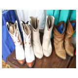 Ladies Cowboy Boots (3 pr)