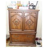 Wardrobe Dresser Cabinet with Drawers