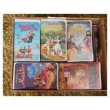 (34) VHS Disney Movies