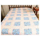 Vintage Quilt, Hand-Quilted