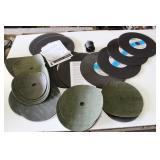 Box of: Sanding Wheels & Stihl 20mm Cutting Wheels