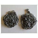 (2) 10ft Chains w/hooks