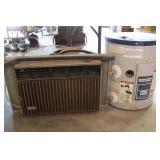 Bradford White 6gal water Heater & Air Conditioner