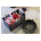 Bargain Lot: Gas Cans, Oil Pan