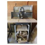 """Craftsman 10"""" Radial Arm Saw, Stand, & Misc"""
