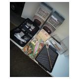 (2) Dutch Oven Carry Bags, Utensils w/bag,