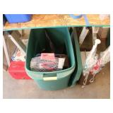 Lot of: Dirt Devil Hand Vac, First Aid Supplies