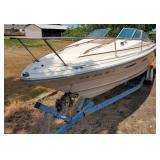 1984 Sea Ray 210 Cuddy Cruiser Boat