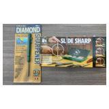 Slide Sharp Knife Sharpener & Diamond Sharpener