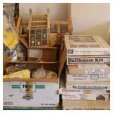 Bargain Lot: Wood Dollhouse Kits, Dollhouse ...