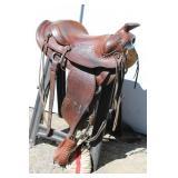 "15"" Simco Western Saddle"