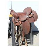 "15"" Frances Ann Brown Saddle"