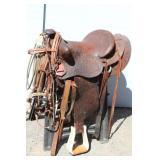 "15"" Buck Steiner Austin Texas Saddle w/Extra Gear"
