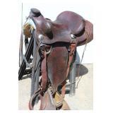 """16"""" JB Bar Custom Saddle"""