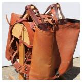 Brand New Pack Saddle & Bags w/Stand