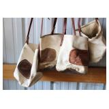 (4) Canvas Bags