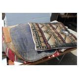 (5) Saddle Blankets