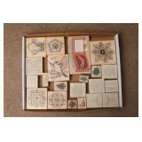 Bluebird, Floral & More Rubber Stamps