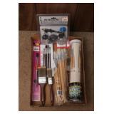 Air Brush Kit & Paint Brushes