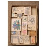 Mothers Day, Floral & More Rubber Stamps
