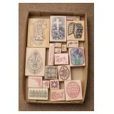 Easter Theme Rubber Stamps