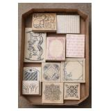 Rocking Horses, Borders & More Rubber Stamps