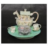 Precious Moments Enesco Tea Set