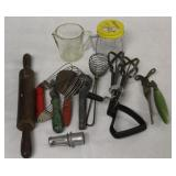 Vintage Kitchen Utensil Lot