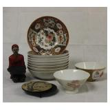 Asian Bowls & Decor Lot