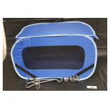 Collapsible Dog Crate & Tie Downs