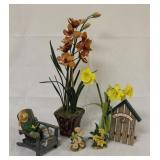 Lot of Flower & Garden Decor