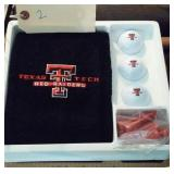 Texas Tech Golf Gift Set like new in the box