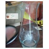 """9"""" Wolfschmidt Genuine Vodka pitcher"""