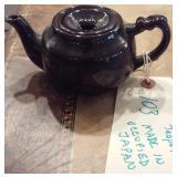 Made In Occupied Japan Standard Glaze brown teapot
