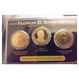 2014 Franklin D. Roosevelt US dollar set PROOF