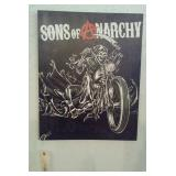 Sons of Anarchy wall hanging