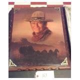 Western art 21x17 John Wayne The Duke
