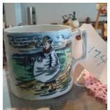 Awesome old English MOTTO MUG jug cup TYKE