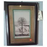 ART Pair of very old framed engravings