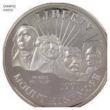 1991-S Mount Rushmore Commemorative Half Dollar