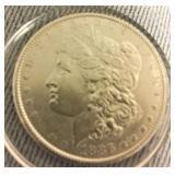 1886 Morgan US Silver Dollar - Philadelphia mint