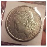 1886 Morgan U.S. Silver Dollar - Philadelphia mint