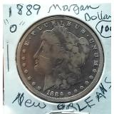 1899 O New Orleans morgan silver dollar
