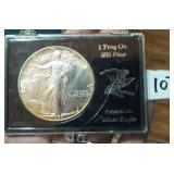 1 troy oz American Silver Eagle coin 1988