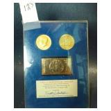 US Bicentennial gold set 1976