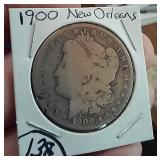 1900-O NEW ORLEANS US Morgan silver dollar