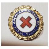 American Red Cross Nurse pin STERLING silver